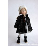 Ensemble Mei-Lynn pour Poupée Little Darling - Magda Dolls Creations
