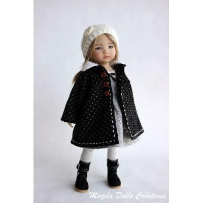 Ensemble Mei-Lynn pour Poupée Little Darling - Magda Dolls Creations