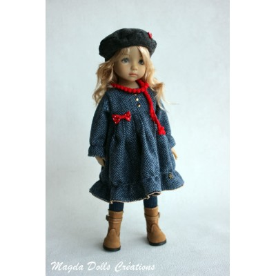 Ensemble Naya pour Poupée Little Darling - Magda dolls creations