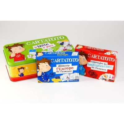 Cartatoto La Boîte à jeux Primaire