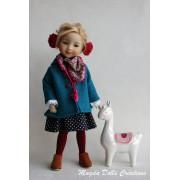Tenue Mylène pour poupée Ruby Red Fashion Friends - Magda Dolls Creations