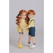 Poupées garçon Ash et Fille Joy - Les Jumeaux Mini Maru