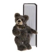 Ours Sneaky Peek et son Livre - Charlie Bears en Peluche