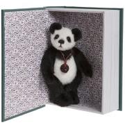 Ours Snuggleability et son Livre - Charlie Bears en Peluche