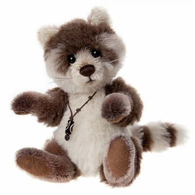 Raton laveur Pitter Patter - Minimo Collection Charlie Bears