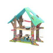 Maison Magical Forest Clubhouse pour petites poupées Kruselings