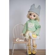 Poupée BJD Cutie Yami Blonde 26 cm - Comi Baby Doll
