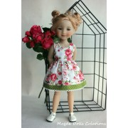 Tenue Gardenia pour Poupée Fashion Friends 36 Cm - Magda Dolls Creations