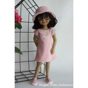 Tenue Pétunia pour Poupée Fashion Friends 36 Cm - Magda Dolls Creations
