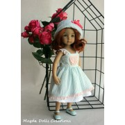 Ensemble Héliconia pour Poupée Little Darling - Magda Dolls Creations