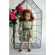 Ensemble Passiflore pour Poupée Little Darling - Magda Dolls Creations