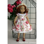 Ensemble Pivoine pour Poupée Little Darling