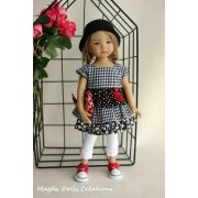 Ensemble Ylang Ylang pour Poupée Little Darling