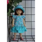 Tenue Campanule pour poupée Boneka - Magda Dolls Creations