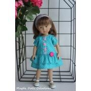 Tenue Freesia pour poupée Boneka - Magda Dolls Creations
