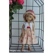 Tenue Tiaré pour poupée Boneka - Magda Dolls Creations