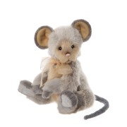 Souris Roulade - Charlie Bears en Peluche