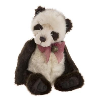 Panda Plumo Dennis - Charlie Bears en Peluche