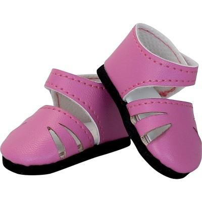 Chaussures roses à bride pour Minouche - Petit Collin