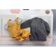 Vêtement Carla Gilet gris pour poupée Las Amigas - Paola Reina