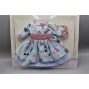 Vêtement Emily Robe bleue pour poupée Soy Tu - Paola Reina