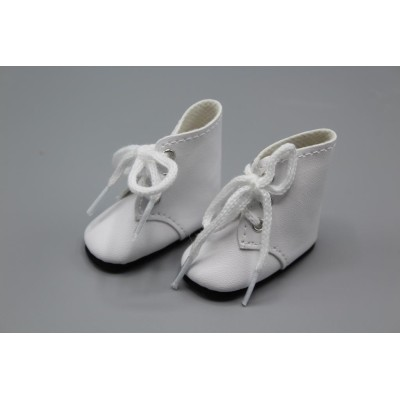 Bottines blanches à lacets pour Amigas - Paola Reina