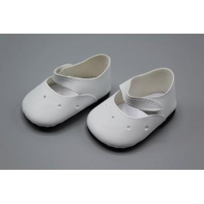 Ballerines blanches pour Las Reinas 60 cm - Paola Reina