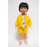 Kenzo Tenue jaune et Tee-shirt - Vestida de Azul