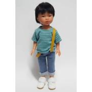 Kenzo Jeans bretelles et Tee-shirt - Vestida de Azul