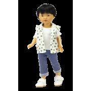 Kenzo Jeans et Gilet à capuchon - Vestida de Azul
