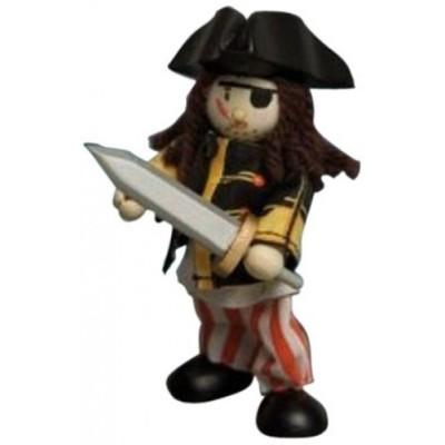 Le Pirate Sammy en bois