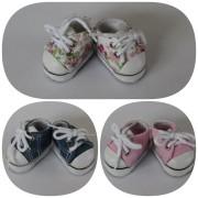 Sneakers à lacets en toile Luzerne