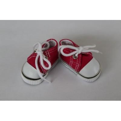 Sneakers à lacets en toile Gentiane