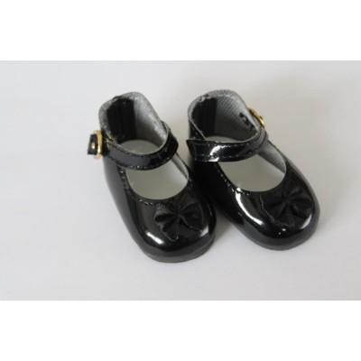 Chaussures Mary Jane vernies noires