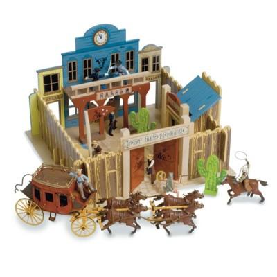 Le Fort des Boucaniers en bois