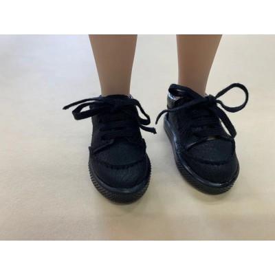 Baskets noires à lacets pour Fashion Friends Ruby Red