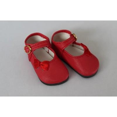 Chaussures Maryjane à noeuds crème Delphinium