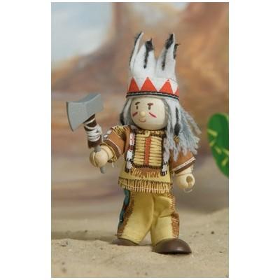 Le Chef indien en bois