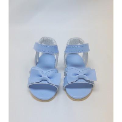 Sandales bleues Noeud Lilou pour Fashion Friends Ruby Red