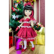 Poupée Christmas Bella Special Edition - Fashion Friends Ruby Red