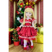 Poupée Christmas Stella Special Edition - Fashion Friends Ruby Red