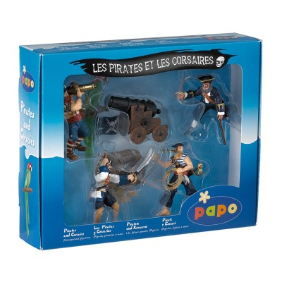 Coffret de Pirates Papo