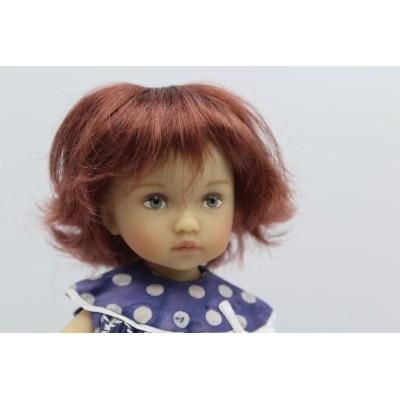 Perruque Roxie pour Boneka Tuesday