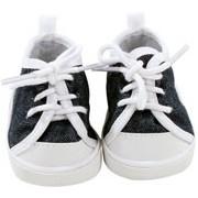 Sneakers à lacets denim pour Little Kidz - Götz
