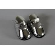 Chaussures Mary Jane argentées pour Amigas - Paola Reina