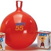 Ballon Sauteur rouge Hop 55