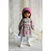 Tenue Hortense pour poupée Boneka - Magda Dolls Creations