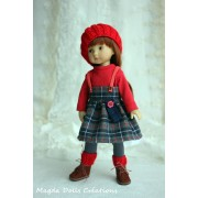Tenue Maddy pour poupée Boneka - Magda Dolls Creations