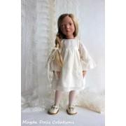 Tenue Pétronille pour Poupée Zwergnase 50 Cm - Magda Dolls Creations