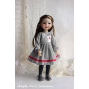 Tenue Anastasia pour Poupée Fashion Friends 36 Cm - Magda Dolls Creations